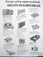1978 Halstead & Mitchell Industrial Cooling Towers Asbestos Product Vtg Catalog