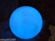 64mm +Stand  Glow White Jade Stone Glow In The Dark Stone Ball China