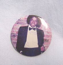 """Vintage Michael Jackson Pin-back, Button Pin 1980's Collectible Pin Jewelry 2"""" D"""