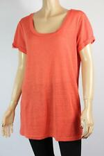 COUNTRY ROAD sz M 10 12 Ladies Linen Blend Tee Top  - Buy 5 Get FREE POST
