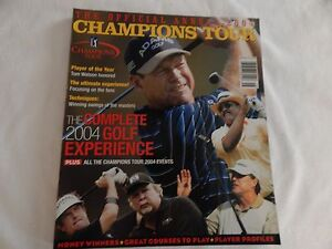 2004 PGA Champions Tour Official Annual! EXCELLENT! CHECK IT OUT!! NEVER OPENED!