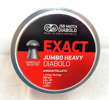 JSB Jumbo Heavy Diabolo Pellets .22 Cal 18.13 gr 500 ct