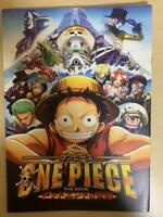 (Used) PB5) One Piece The Movie Dead End no Bouken Pamphlet