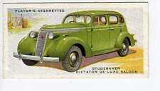 (Jr163-100) Players,Motor Cars 2nd,Studebaker Dictator De Luxe Saloon,1937 #45