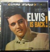 Elvis Is Back , Elvis Presley double VINYL LP's 45 RPM AUDIOPHILE 180 GRAM