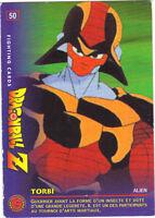 DRAGON BALL Z - Fighting cards n° 50 - TORBI