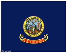 IDAHO (USA State) FLAG 5FT X 3FT  (Another Quality item from Klicnow)