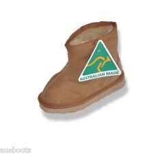 Ankle Sheepskin Ugg Boots Kids Children 100% Australian Hand Crafted Since 1977