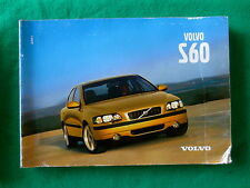 2001 01 Volvo S60 Owners Manual  H9