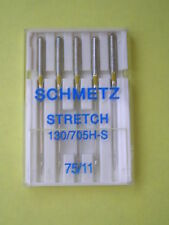 SCHMETZ STRETCH SEWING MACHINE NEEDLES 75/11 HUSQVARNA