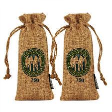 2Pcs Air Purifying Bag Bamboo Charcoal Bag Air Freshener Odor Deodorizer 75g