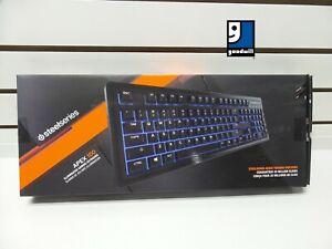 SteelSeries Apex 100 Blue LED Backlit Gaming Keyboard