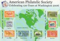 AMERICAN PHILATELIC SOCIETY LANDMARKS IN MAIL DELIVERY GAMBIA MNH STAMP SHEET