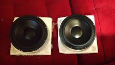 """Morel CAW938 9"""" Cast-Frame Woofer Speakers (pair)"""