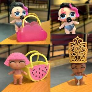 6 Pcs LOL Surprise LiL Sisters Poupées & Sac Jouets Cadeaux De Noël Dollhouse