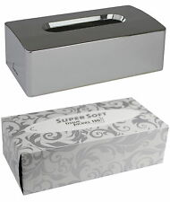 Kosmetiktuchbox 2-teilig 25 x 13,5 x 8 cm Medi-Inn + 150 Kosmetiktücher