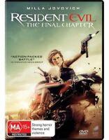 The Resident Evil - Final Chapter DVD : NEW