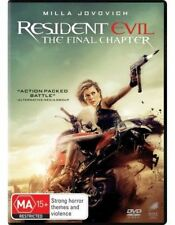 The Resident Evil - Final Chapter DVD : NEW