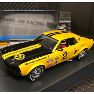 Pioneer P069 Ford Mustang Notchback 1968 #2 Atwell Slot Car 1/32 Scalextric DPR