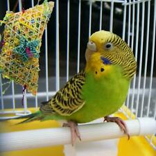 Parrot Bird Chew Toy Cage Hanging Strip Budgie Woven Bite AU Grass Toys Z8T1
