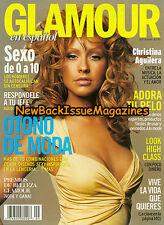 Spanish Glamour 9/04,Christina Aguilera,Molly Sims,September 2004,NEW