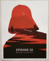 STAR WARS - Revenge Of the Sith - Episode III - Lithographie - Les Inrocks2 #66