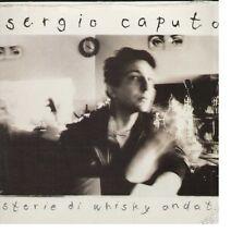 Sergio CAPUTO-STORIE DI WHISKY ANDATI/WARNER RECORDS CD 1988 RARE!