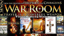 8 Pack - Fireproof Facing The Giants WAR ROOM Flywheel Courageous DVD NEW SEALED