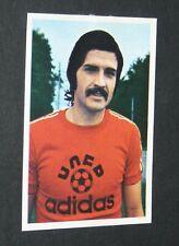 N°165 CARLOS CURBELO AS.NANCY VIGNETTE PANINI FOOTBALL 77 STICKER 1977