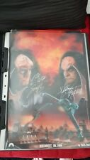 Star Trek Martok And Gowron Hand Signed autograph Medium Poster
