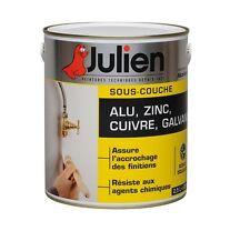 PEINTURE SOUS COUCHE ACCROCHE ALU ZINC CUIVRE GALVA INOX JULIEN 2.5L