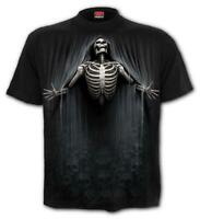 SPIRAL DIRECT LIBERATED T-Shirt Biker/Grim Reaper/Skull/Goth/Top/Tee/Death/Soul