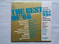 The Best Of 66 Volume Two With 1967 Columbia Calendar ABS-1 Still Sealed LP MINT