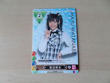 Carte Idole J-pop Mayu Watanabe AKB48  !!!