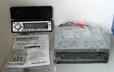New Daewoo DWMP-3022 Single Din CD MP3 Player With Remote Control Express Post!.