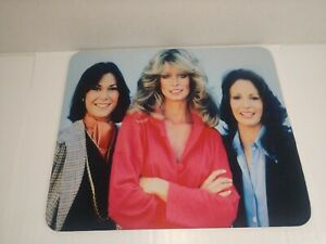 Charlie's Angels Mouse Pad Farrah Fawcett Jaclyn Smith Kate Jackson NEW