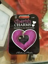 Mulberry Studios - Personalized Cherish Charms - Leah - New
