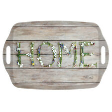 iStyle Country Home Handled Tray Melamine Rustic Serving Crafts TV Dinners