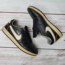 Nike AIR Ronaldinho Brown Gold Leather Indoor Soccer Shoes 315261-027 Sz 8 RARE