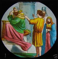 Glass Magic Lantern Slide LIFE OF JOSEPH NO1 C1890 CHRISTIAN RELIGION