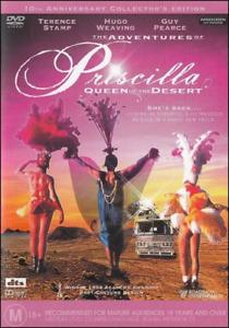 Adventures of Priscilla Queen of the Desert DVD Guy Pearce - FREE POSTAGE AUST