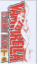 Dynamite Vampirella and the Scarlet Legion #1 DF Dynamic Forces Campbell