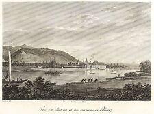 Pillnitz (Dresda) - Castello Pillnitz-Johann Philipp Veith-ACQUAFORTE 1808