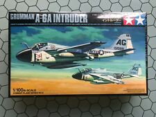 Tamiya 1/100 - Grumman A-6A Intruder - Classic Tamiya Scale Model Kit - Warbirds