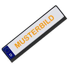 Kennzeichenhalter Nummernschildhalter Streifen Aufkleber - Abdeckung