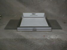 Leather Stainless Watch Dealer Display Iwc Schaffhausen 100% authentic Chrome