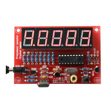 DIY 1Hz-50MHz Crystal Oscillator Frequency Counter Meter Digital Tester LED New