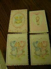 """3410) Lot 4:Betsey Clark Valentine's Day Cards 3 Designs 1972 1973 1975 5.5 x 4"""""""