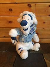 "NEW Disney ""TIGGER"" Winter White Stuffed Animal - 12 inches"