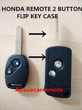 HONDA REMOTE 2 BUTTONS FLIP KEY CASE ACCORD JAZZ CRV Odyssey CIVIC